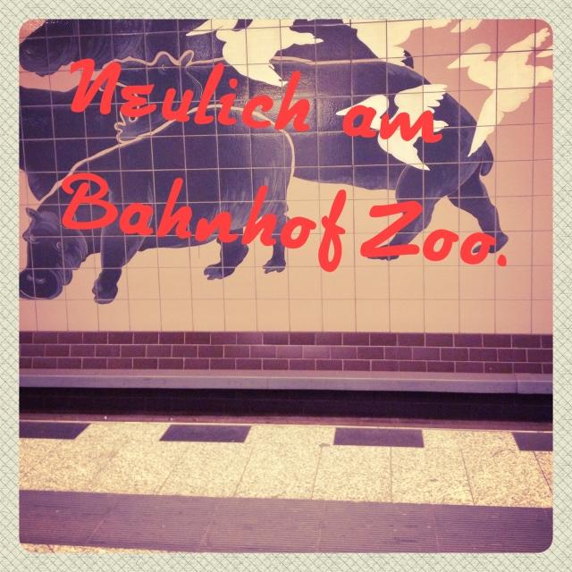 Neulich am Bahnhof Zoo